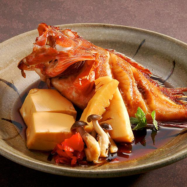 横浜駅で魚料理