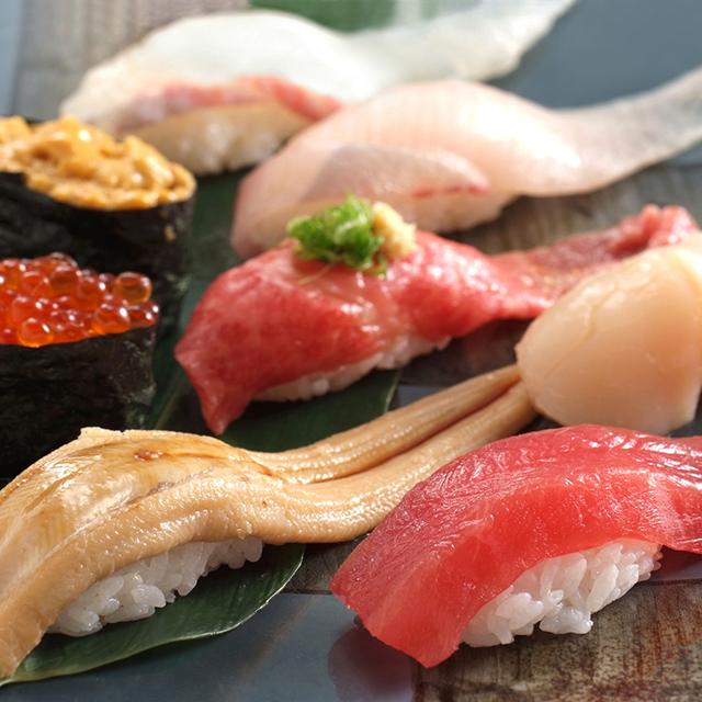 上野で寿司