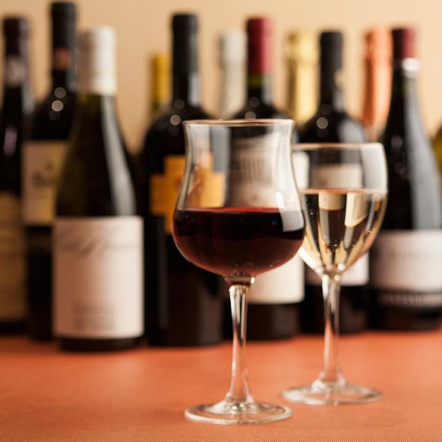 祇園でワイン