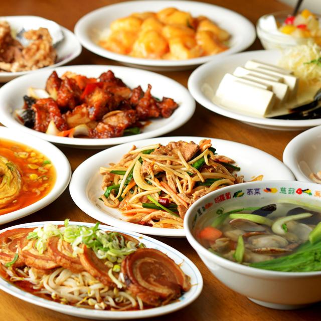 水道橋で中華料理
